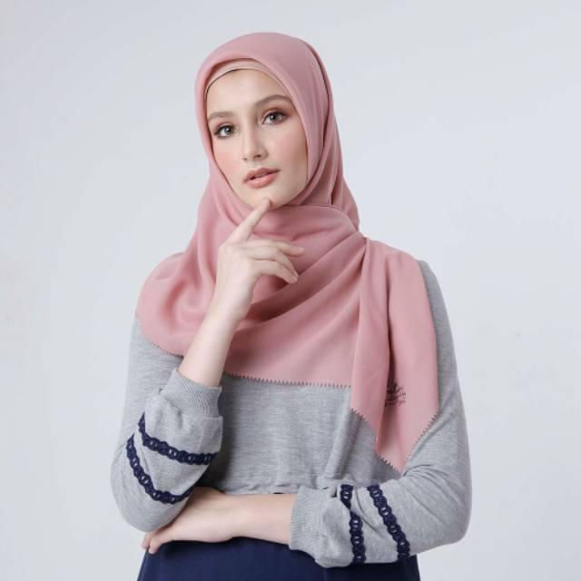 Zoya Kerudung Segiempat Zoya Kerudung Polos Zoya Diskon Kerudung Segiempat Polos Shopee Indonesia