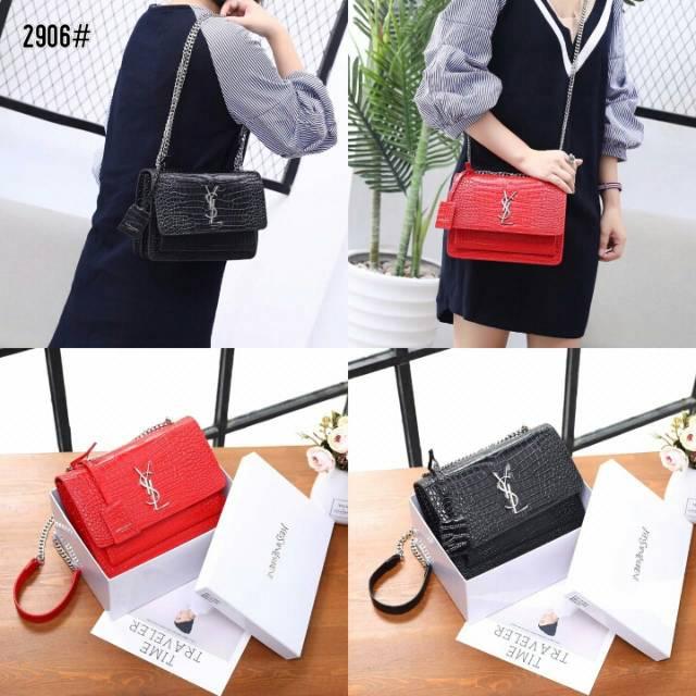 0b094e780673 YsL Niki Chain Medium Bag 51688 / R2040 | Shopee Indonesia