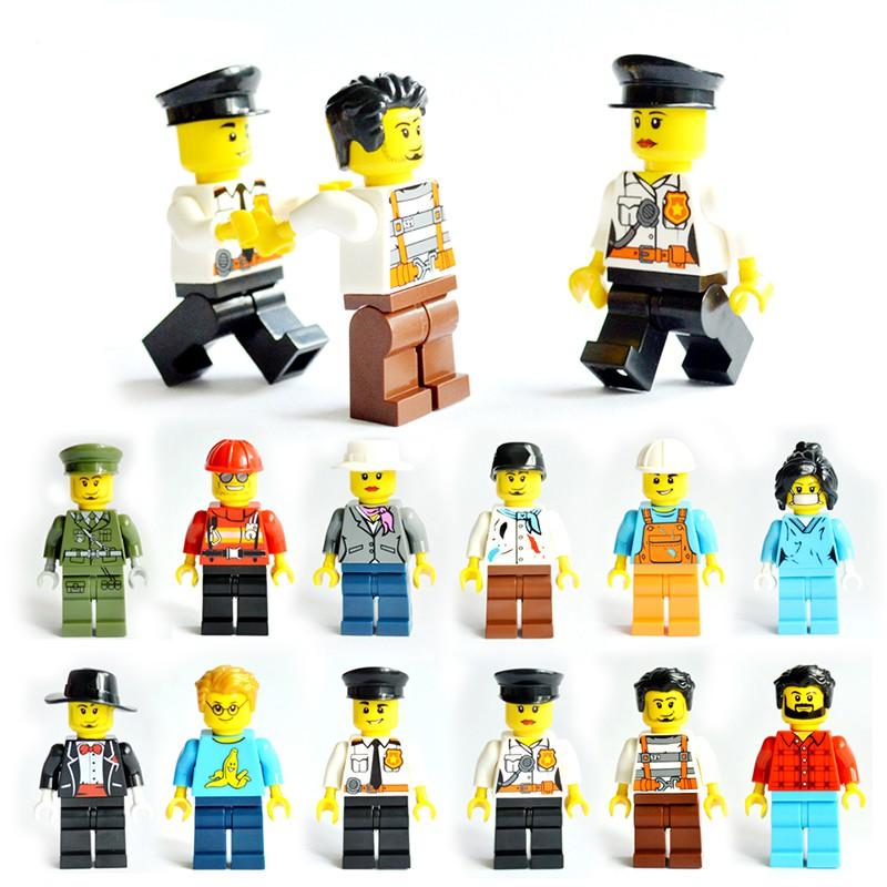 Mainan Edukasi Anak Lego Balok Bangunan Desain Minifigures ...