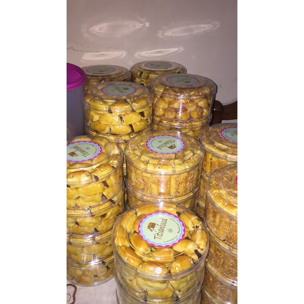 Garansi Kue Kastengel Keju Edam Renyah Gurih Enak Halal Homemade Nastar Wisman Berkualitas Shopee Indonesia