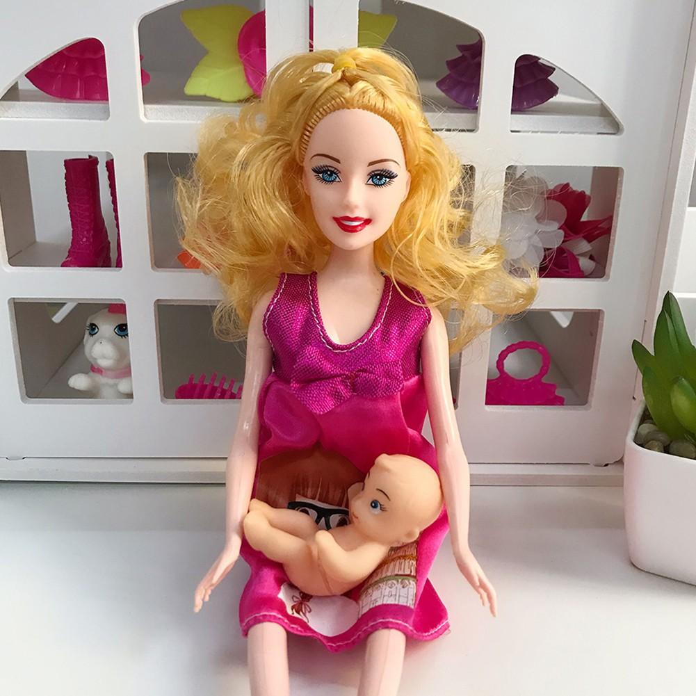 Shin Mainan Boneka Ibu Hamil Aneka Warna Dengan Bayi Dalam Perut Untuk Edukasi Awal Anak Shopee Indonesia