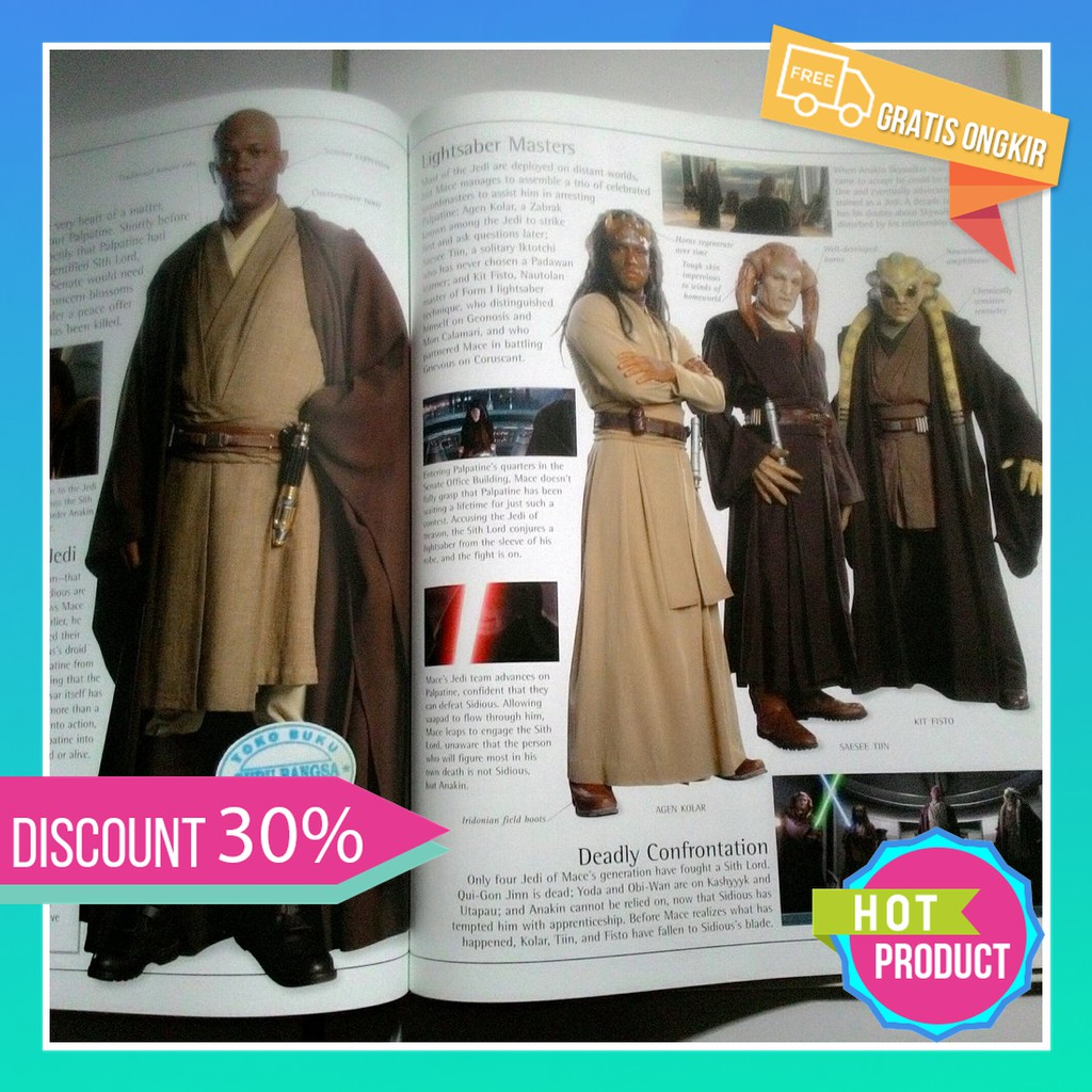 Jual Star Wars Revenge Of The Sith The Visual Dictionary Murah Shopee Indonesia