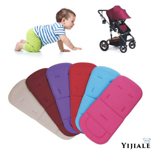 Popular Washable Soft Stroller Pushchair Car Seat Padding Pram Liner Pad Cushion hot pink