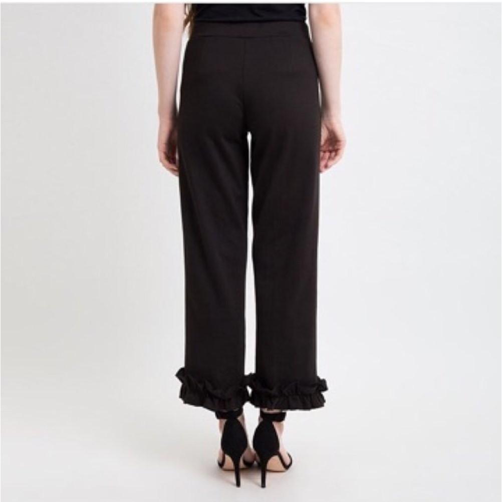 Mermaid ruffles cutbray trousers culotte basic pants/ celana kulot panjang duyung premium import BKK | Shopee Indonesia
