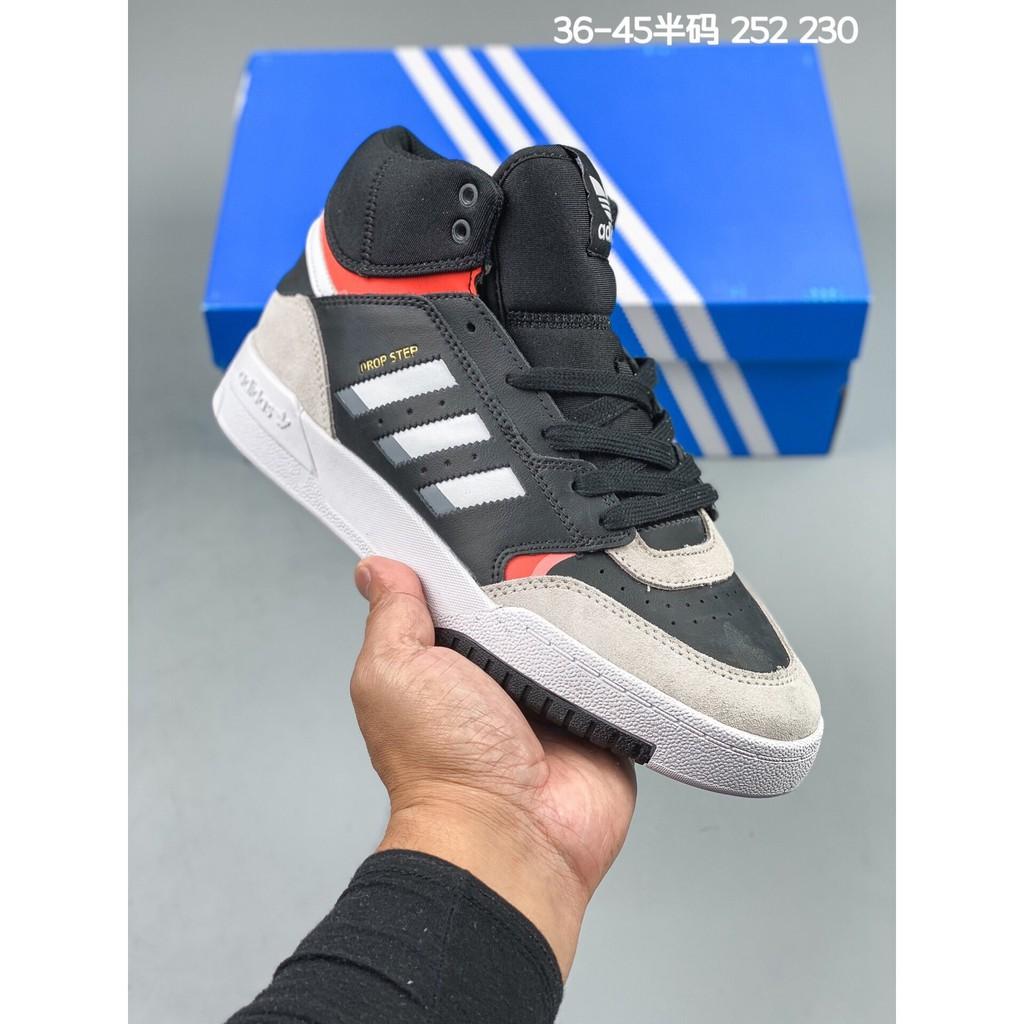 Sepatu Sneakers Casual Pria / Wanita Model Adidas 2019 Drop Step Lt Warna Hitam 2c