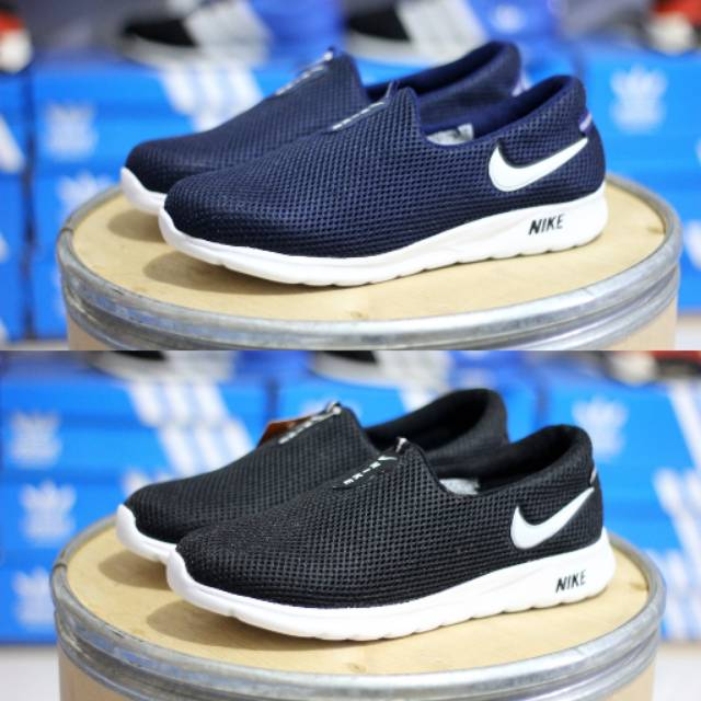 Sneakers Pria Tanpa Tali Sepatu Nike Terlaris Shopee Indonesia