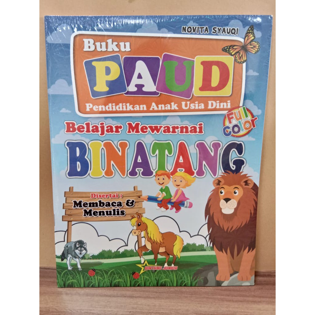Buku PAUD Pendidikan Anak Usia Dini Bintang Junior