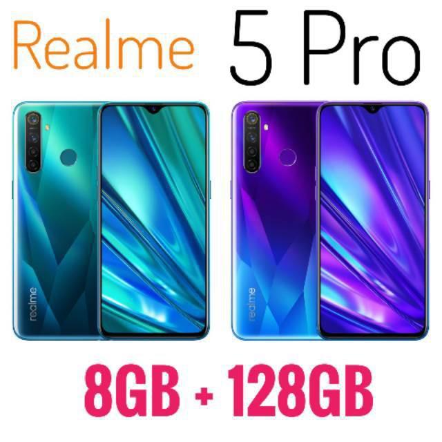 Realme 5 Pro Ram 8gb Rom 128gb 8 128 Relmi Garansi Resmi Rilmi Shopee Indonesia