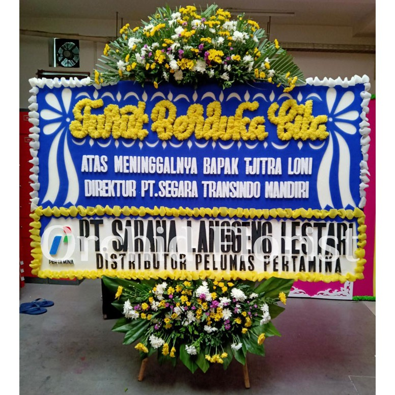 Free Ongkir Bunga Papan Jakarta Karangan Bunga Duka Cita Shopee Indonesia