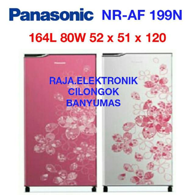 Menakjubkan Kulkas Panasonic Nr Af 199N Sv 1Pintu Berkualitas | Shopee Indonesia