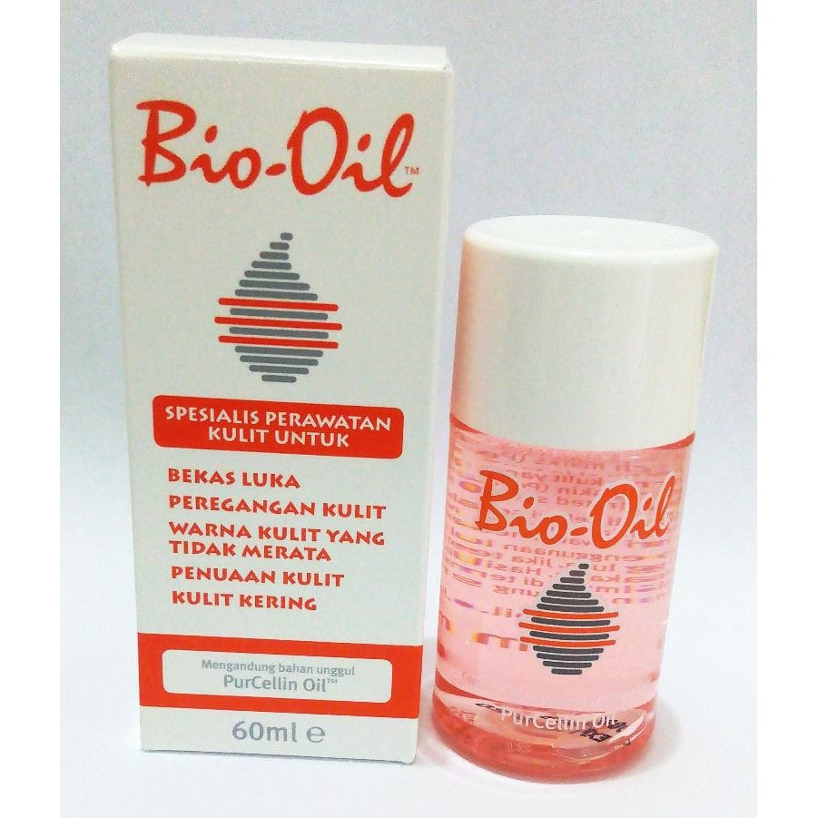 Jual Bio Oil 60 Ml Penghilang Scar Stretchmark Original Perawatan Kulit Stretch Mark 125ml Murah Shopee Indonesia