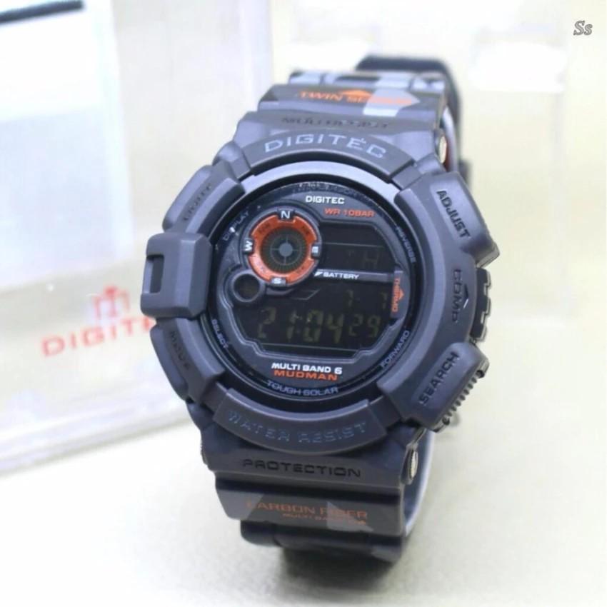 SUNROAD fr721 Jam Tangan Sport Digital dengan Barometer + Altimeter + Altimeter untuk Memancing | Shopee Indonesia