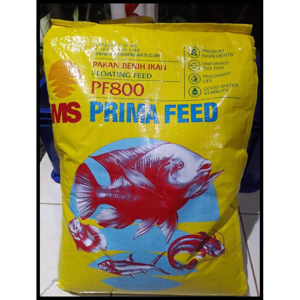 Harga Spesial Pakan Makanan Benih Bibit Ikan Lele Nila Gurame Pelet Pf 800 1 Kg Shopee Indonesia