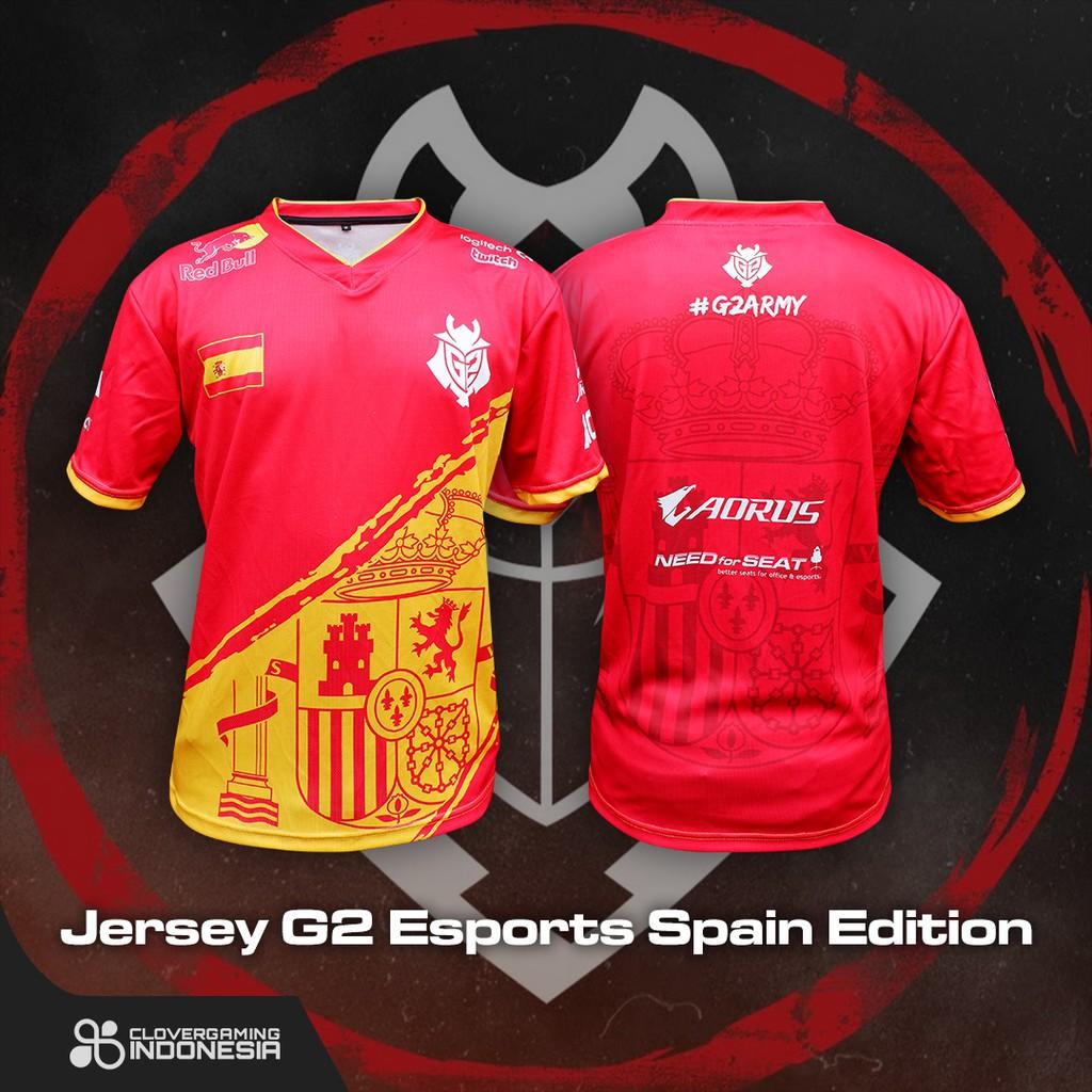 Jersey G2 Esports Spain Edition - Baju Kaos Gaming Esports