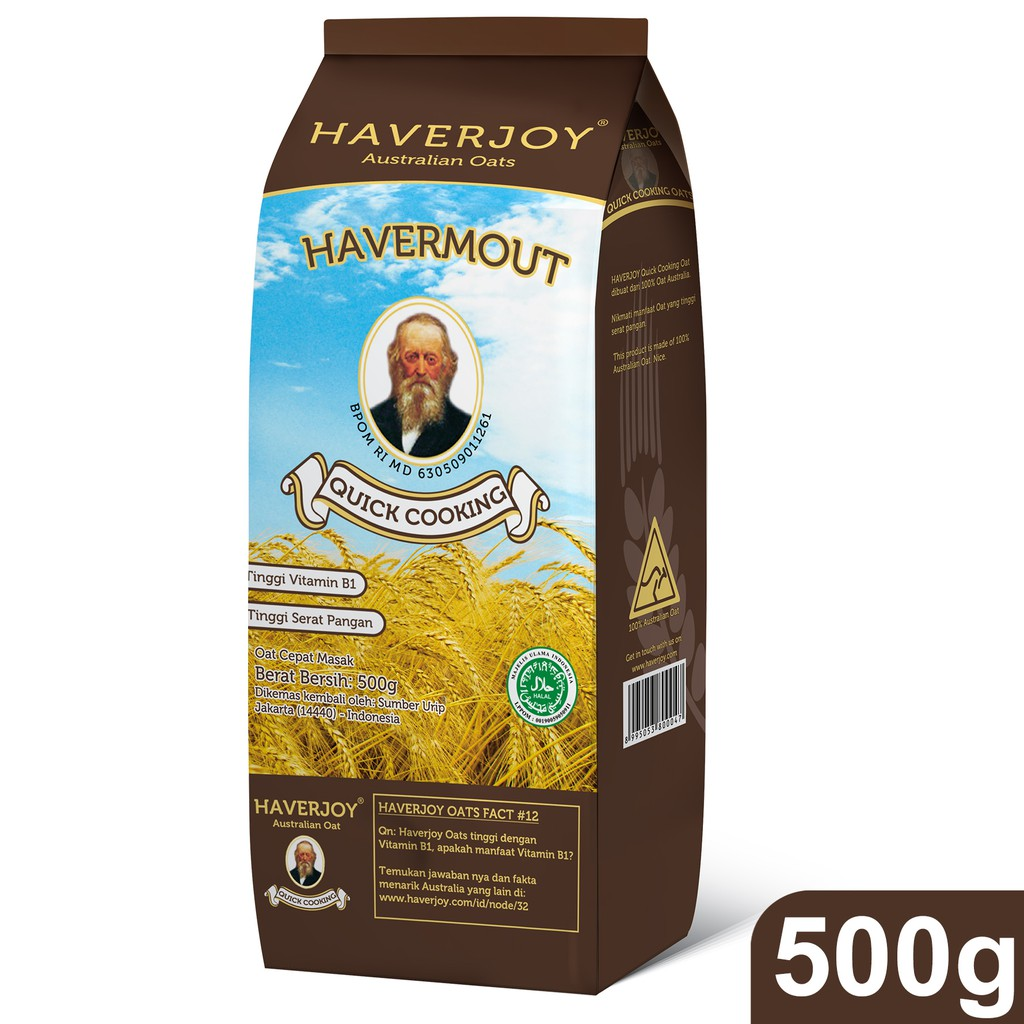 Haverjoy Quick Cooking Oats 500g