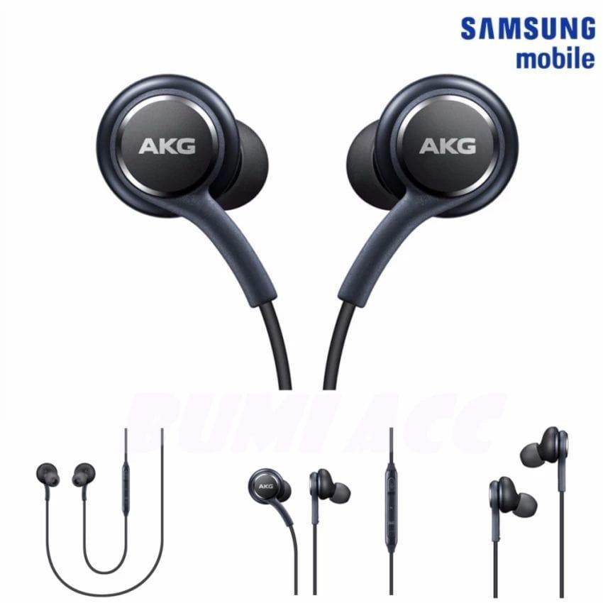 Headset AKG Samsung S8 / S8 Original Earphone Handsfree Universal   Shopee Indonesia