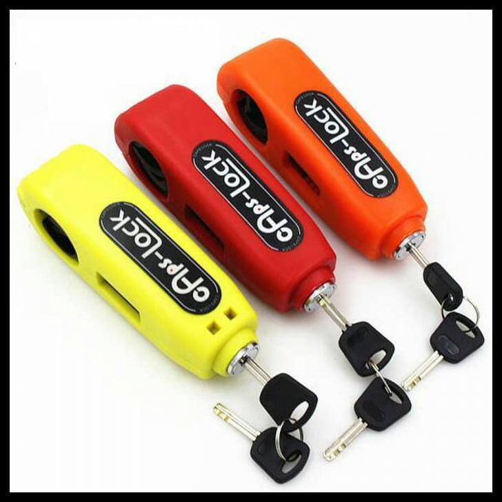 Griplock grip lock kunci gembok pengaman anti maling stang motor murah | Shopee Indonesia