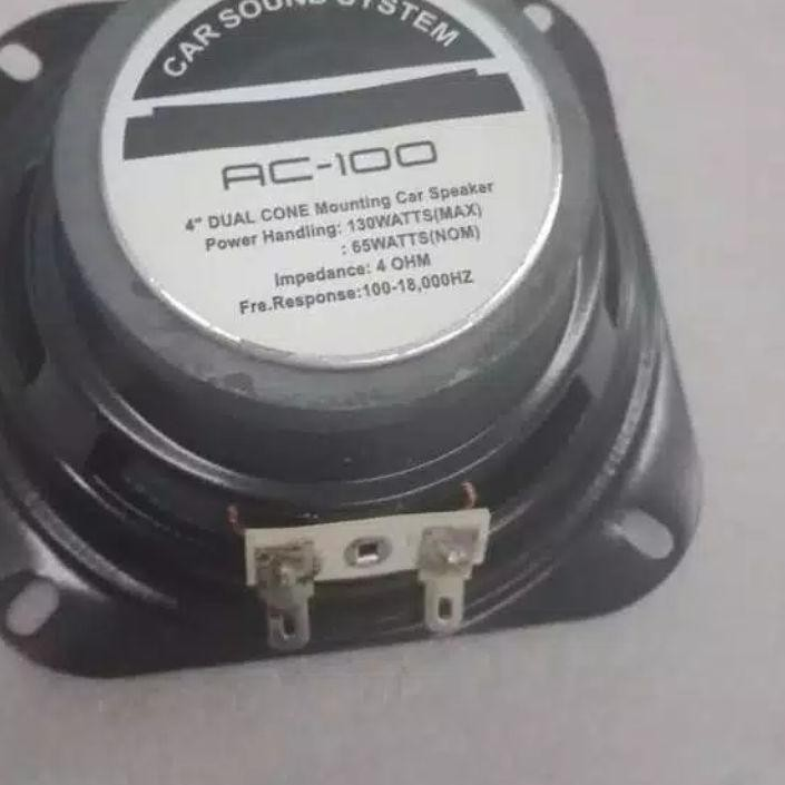 "» CBD Speaker woofer 4inch 4in acoustic / speaker mobil acoustic 4"" 260watt terbaru"