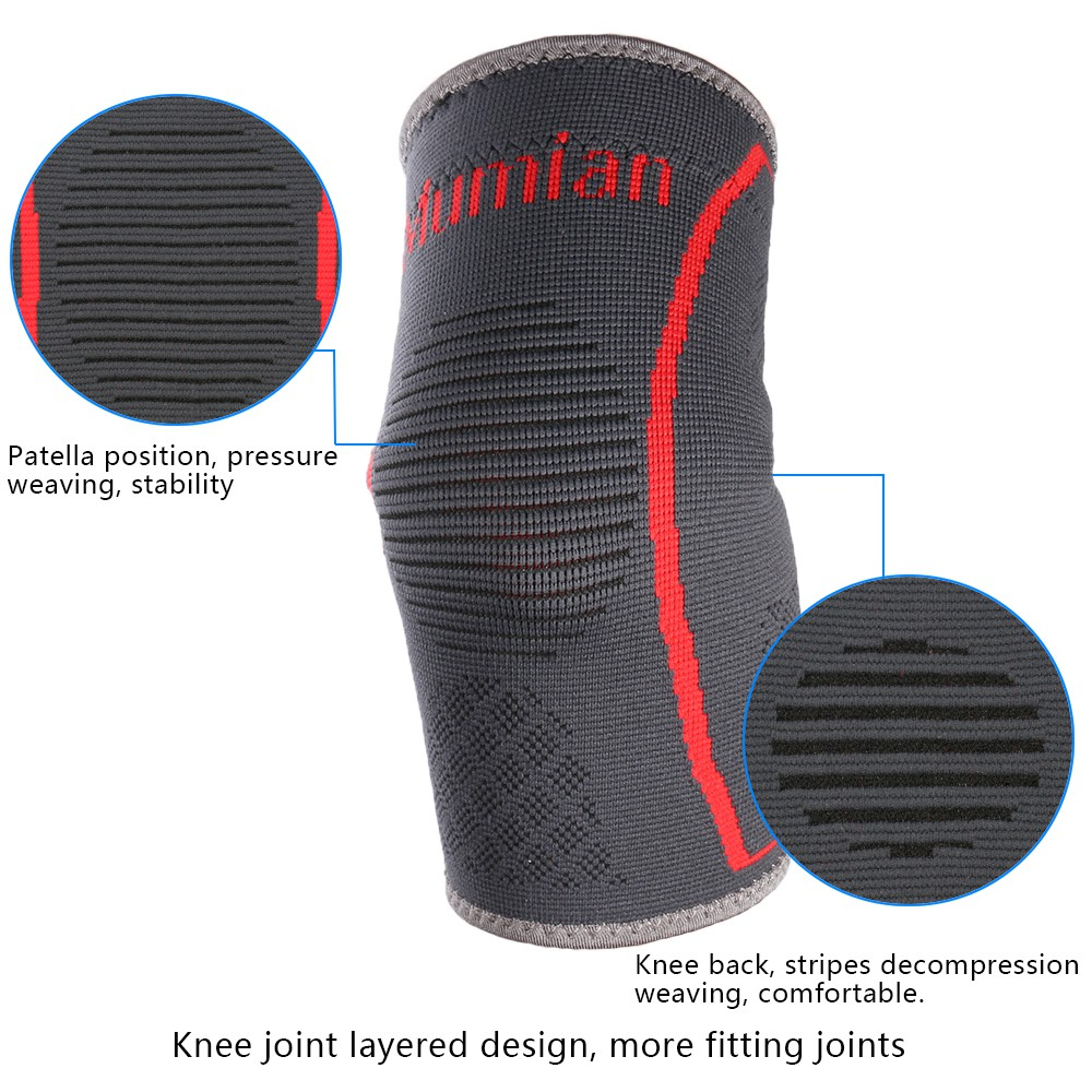 Standard Knee Support Open Patella Lp 708 Deker Penyangga Lutut Hitam Shopee Indonesia