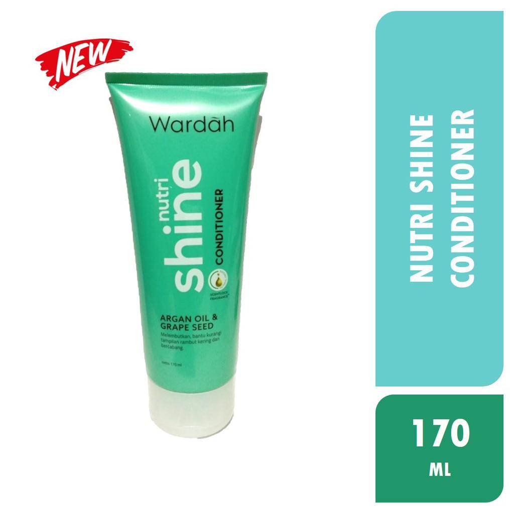 Wardah Nutri Shine Conditioner 170 Ml Shopee Indonesia Rudy Hadisuwarno Dandruff Defense Shampoo Tea Tree Oil 2000