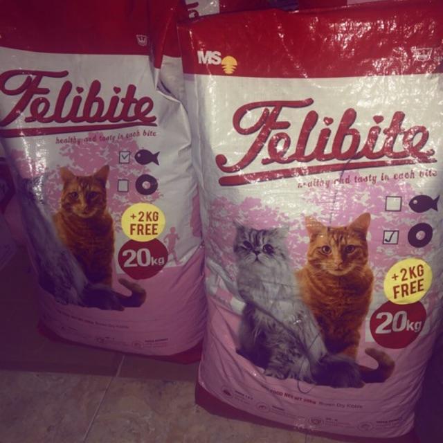 Makanan Kucing Felibite 20kg Murah Shopee Indonesia