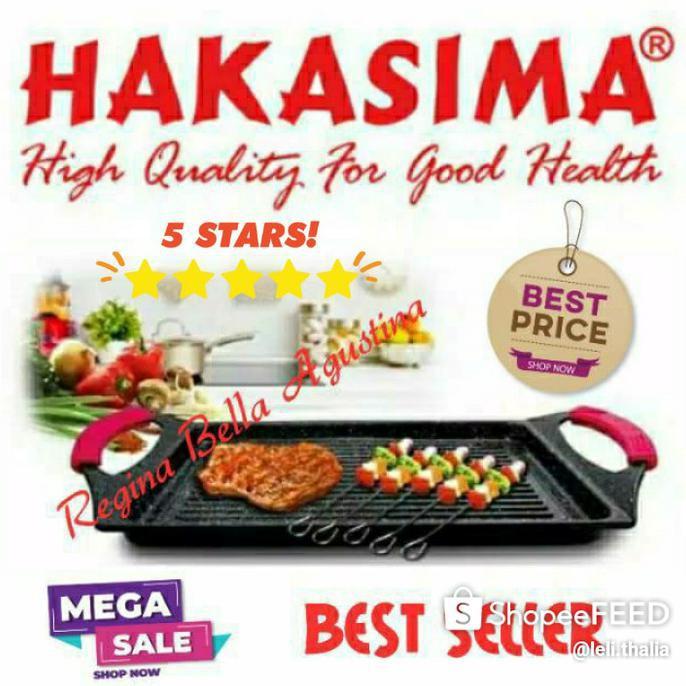 Best Seller Hakasima New Bbq Grill Pan Big Sale! Promo Pemanggang