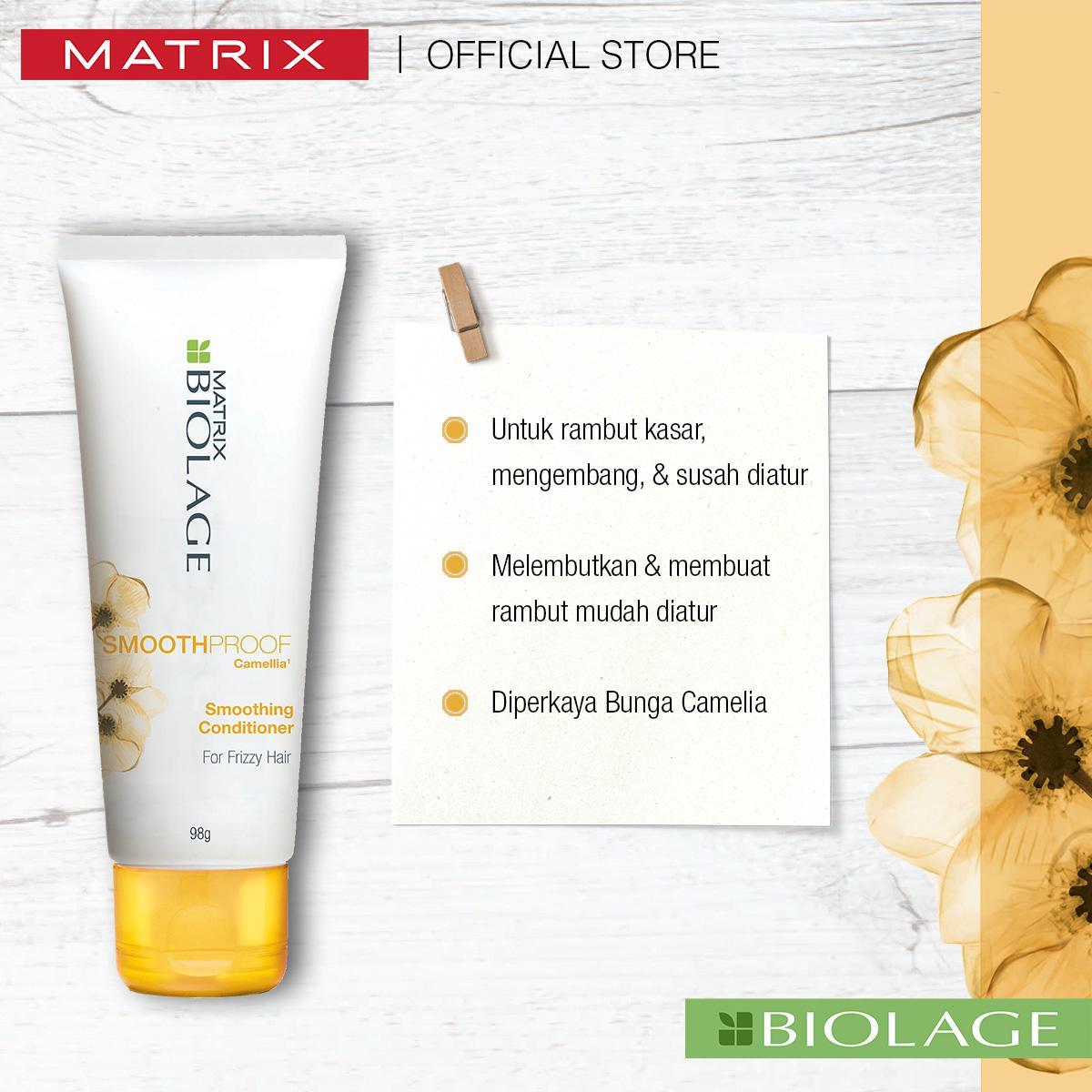 Biolage Anti-Frizz Shampoo 200ml + Conditioner 100ml-4
