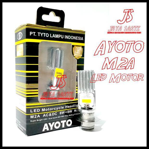 LED AYOTO KUNING M2A H6 - PUTIH