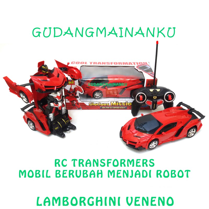 Mainan Mobil Robot Transformer Super Car Deformation 859 | Shopee Indonesia