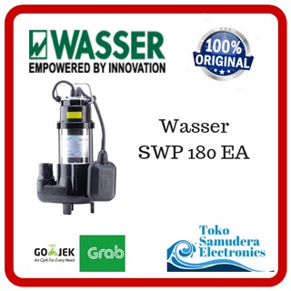 Mesin Pompa Air Celup Sirkulasi Air Kotor Wasser SWP 180 EA Submersible Pump | Shopee Indonesia