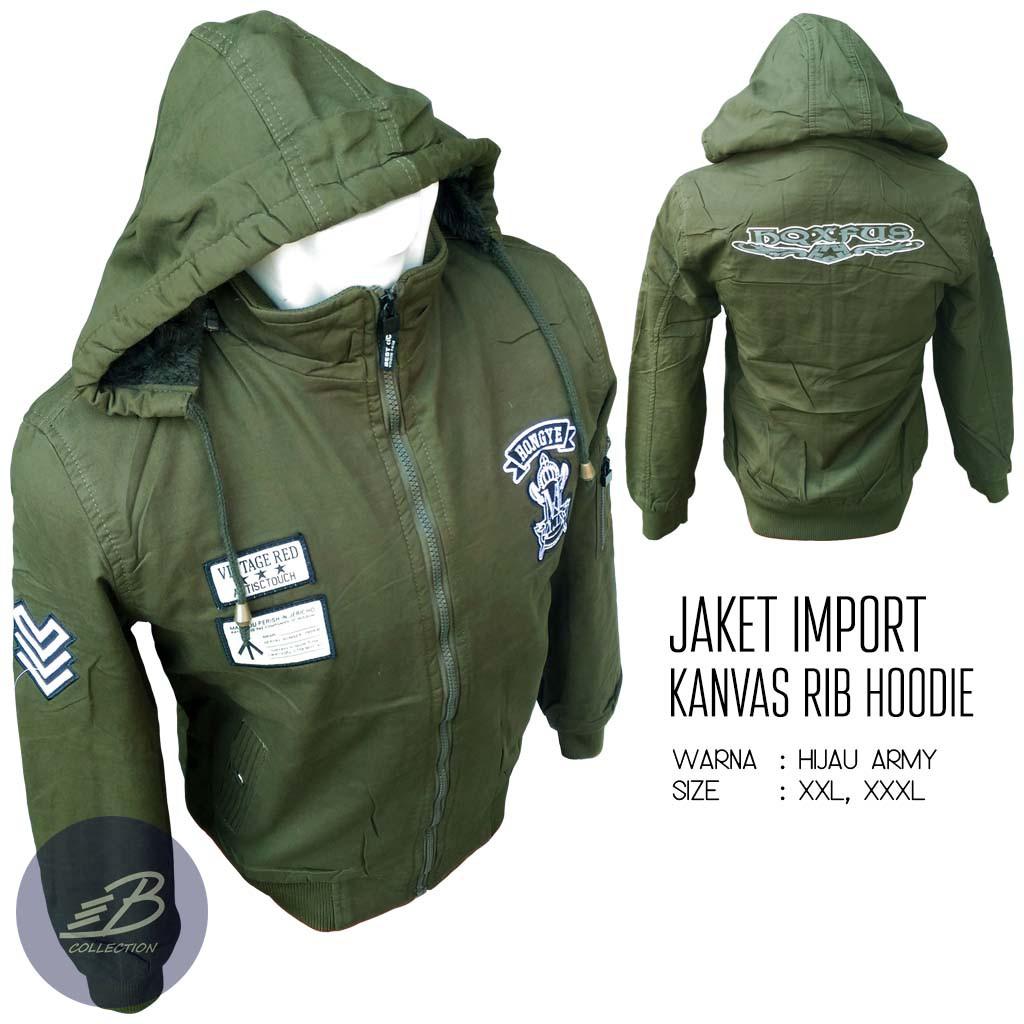 Jaket Import Pria Hoodie Bahan Anti Bara Tebal Dan Hangat - Jaket Impor  Jumbo Murah Keren  5d45daec7a