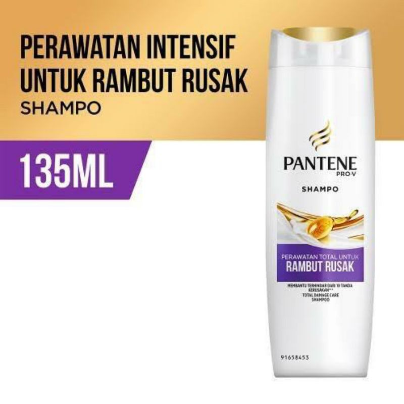 PROMOO SHAMPOO PANTENE 130  ML ~ ORIGINAL 100%-rambut rusak