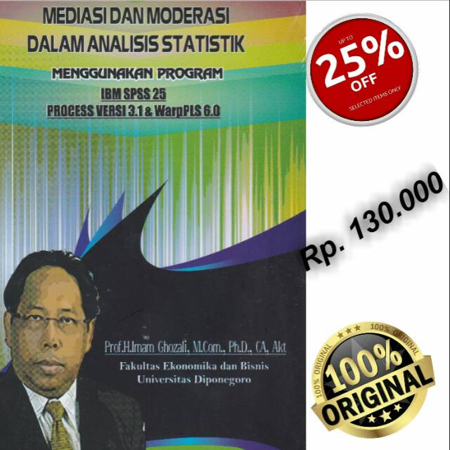 Buku Mediasi Dan Moderasi Dalam Analisis Statistik Menggunakan Program Shopee Indonesia