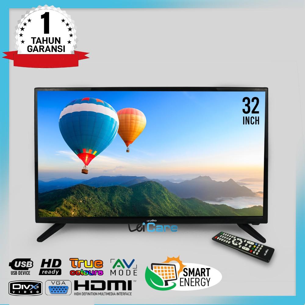 Niko LED TV NK 32ALPHA Smart Energy 32 Inch HD Ready / USB / MOVIE / HDMI / VGA