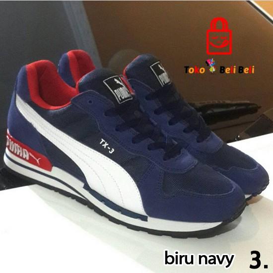 Puma Suede Classic Sepatu Sneakers Olahraga Olympian Blue White ... cb5551ae9