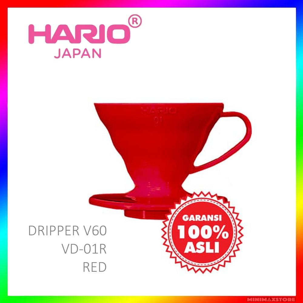 Hario Paper Filter Vcf 02 40w Putih Spec Dan Daftar Harga Terbaru Vd 01r V60 01 Red Sendok Takar Coffee Dripper Pour Over 1 2