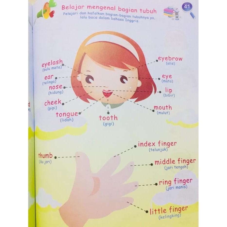 Buku Anak Tk Paud Terbaru Terbaik Buku Anak Bermain Dan Belajar Bahasa Inggris Untuk TK PAUD Buku