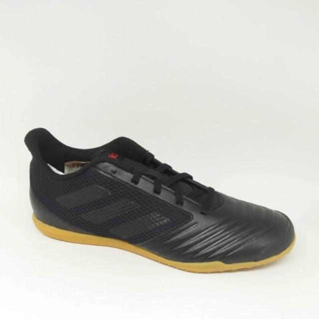 2a1c51e41 Kicosport Sepatu Futsal adidas predator 19.4 in sala allblack original new  2019