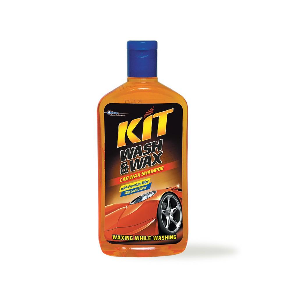 KIT Wash & Wax Shampoo 500 ml / Mencuci Sekaligus Waxing Mobil Anda / Wash and Wax Shampoo Mobil-2