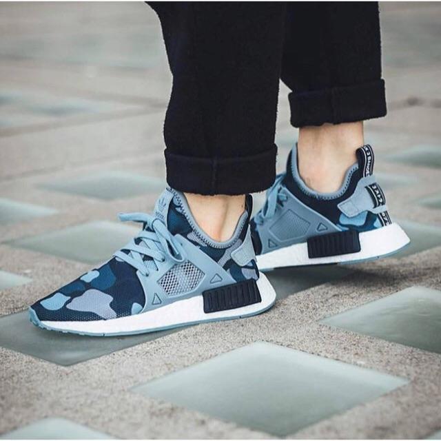 Adidas NMD XR1 Duck Camo midnight grey Sneakers Pria Sepatu Jalan PREMIUM Original