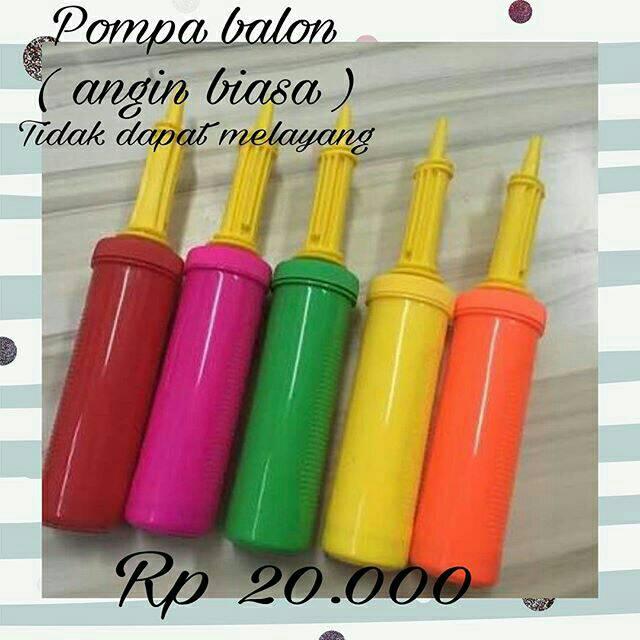 POMPA BALON TANGAN 30 cm good quality perlengkapan pesta ulang tahun ultah party supplies GROSIR | Shopee Indonesia