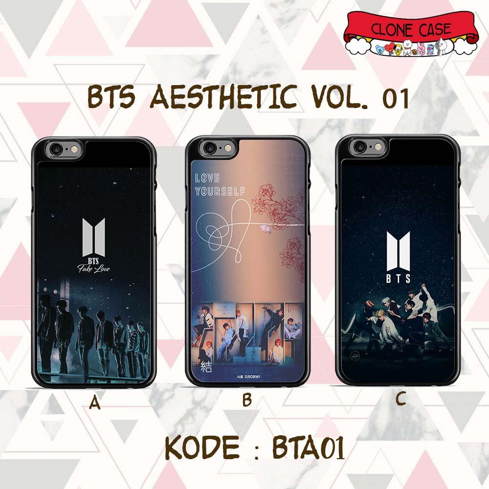 Bts Aesthetic 1 Custom Case Hardcase Black Shopee Indonesia