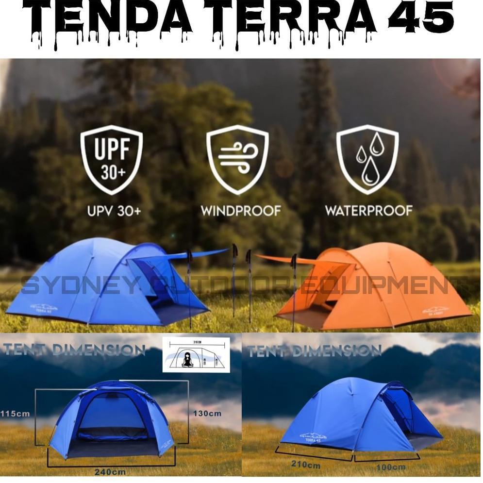 Tenda Camping Outdoor Dhaulagiri Terra 45 Original Kode F9911 Shopee Indonesia