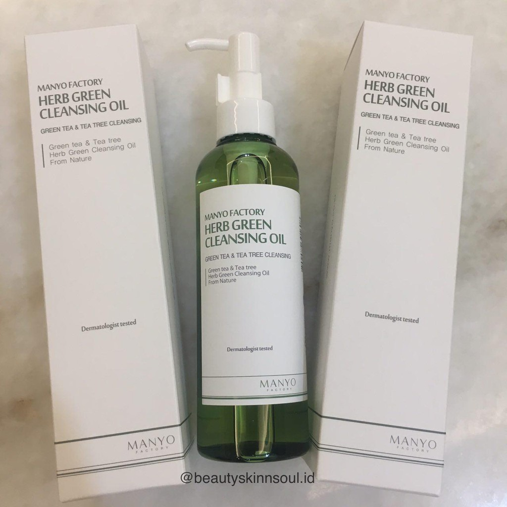 Share In Bottle 20 Ml Manyo Factory Herb Green Cleansing Oil Biore 150ml Free Sheet 2s Sample Shopee Indonesia