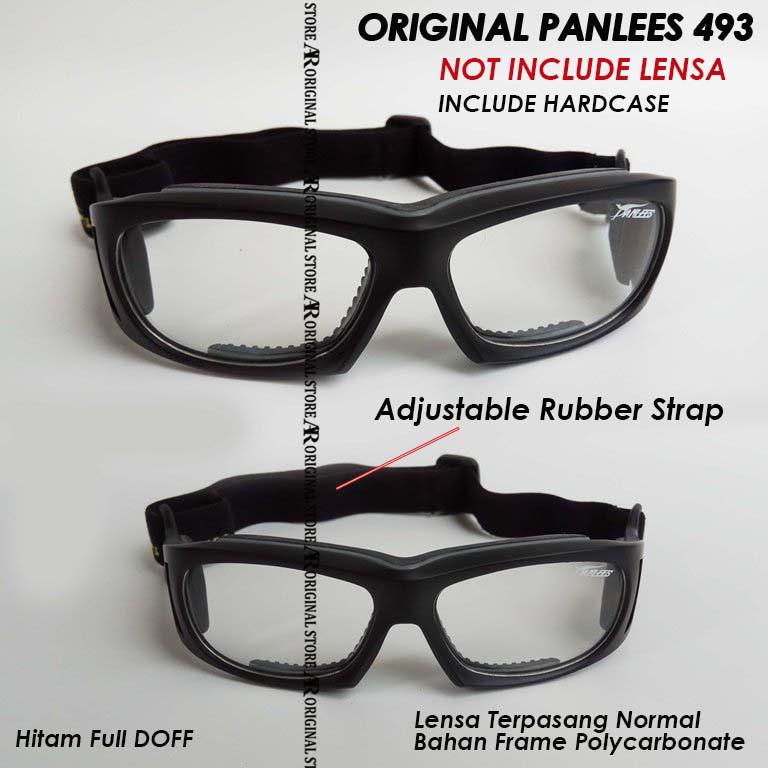 Google Original Panlees 493 Kacamata Basket Sepeda Panless Frame Minus Plus  Motor Olahraga Futsal 1  155c5bd2fe