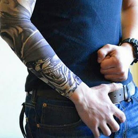 Terlaris Safety Manset Tangan Tato Arm Sleeve Tatoo Tangan Pria Motor Lengan Shopee Indonesia