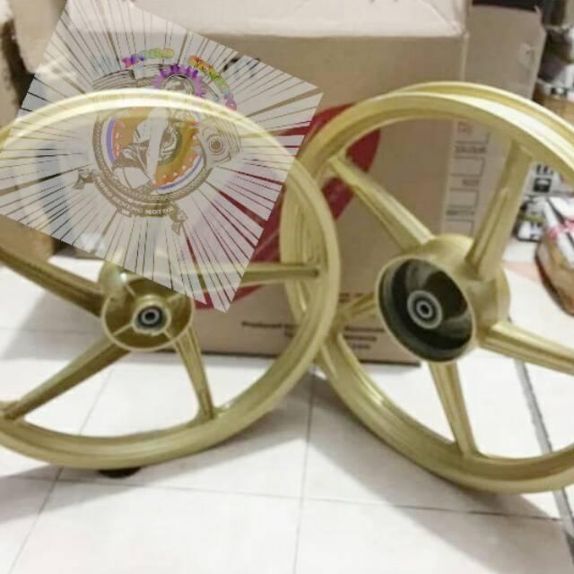 Velg Racing Honda Blade New Old Absolute Revo Palang 5 Ukuran 140 160 17 Shopee Indonesia