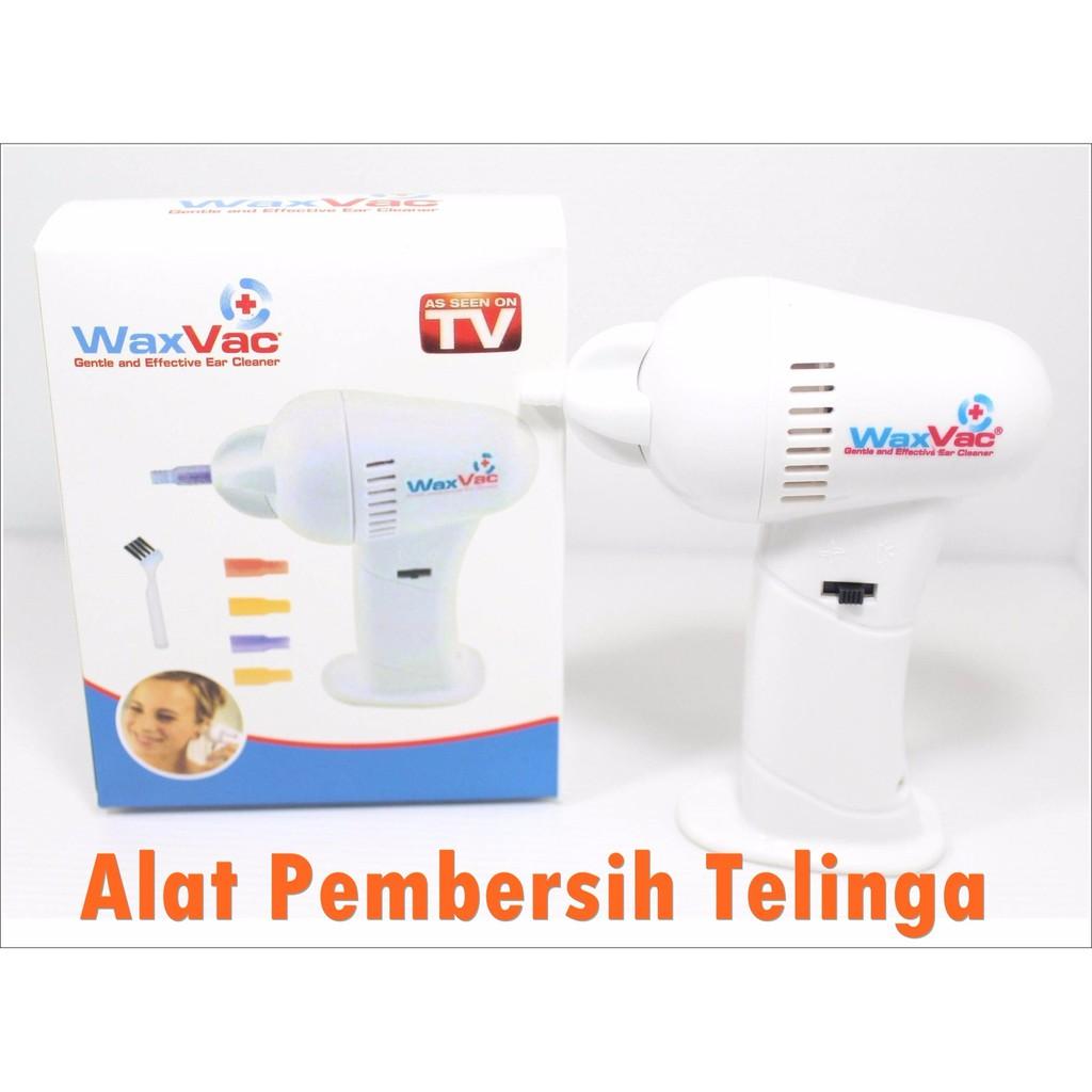 Terlaris Alat Pembersih Telinga Kuping Elektrik Waxvac Ear Cleaner Wax Vac Electric Vacuum Removal Whit Brm005 Shopee Indonesia
