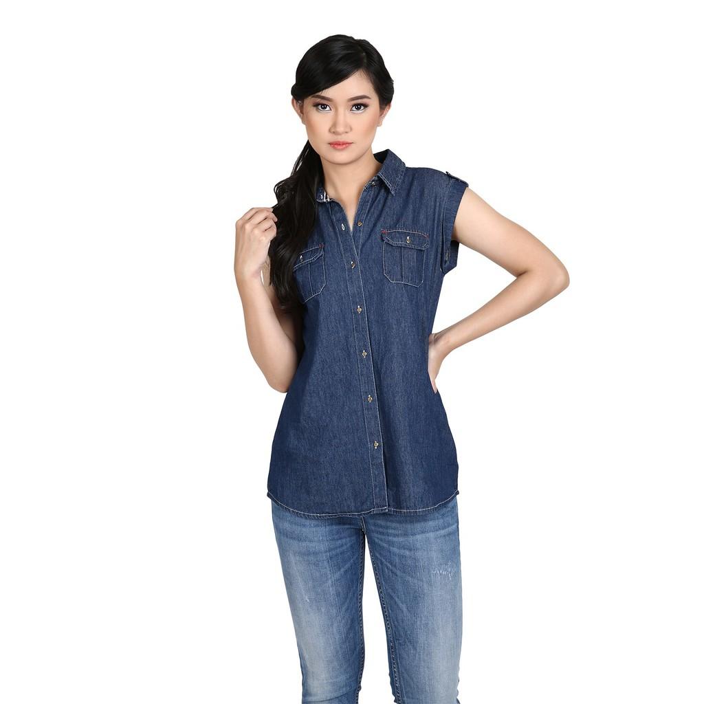 Miyoshi Josei Eamj007bl Cullote Denim Shopee Indonesia Mj17sk007ma Knee Skirt Medium Blue Biru 36