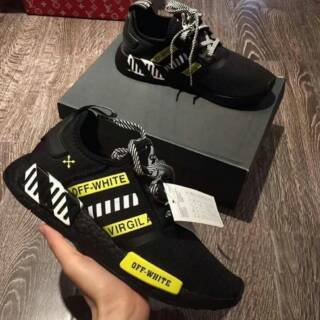 best authentic super quality super quality OFF WHITE X ADIDAS NMD R1 VIRGIL ALBOH
